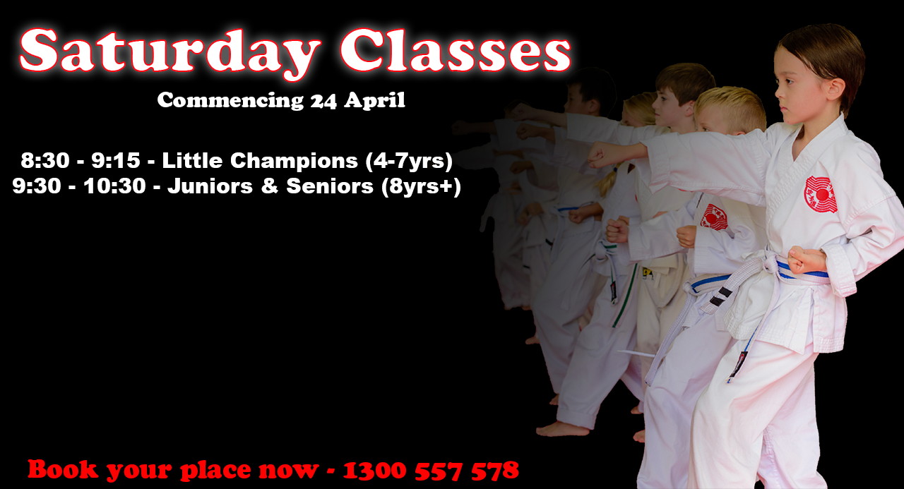 Saturday Karate Classes - Ashmore