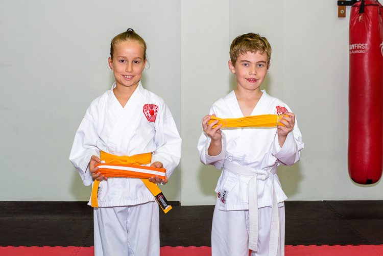 Autumn Karate Grading
