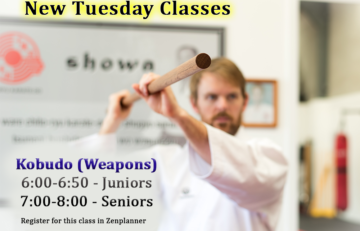 New Kobudo Classes