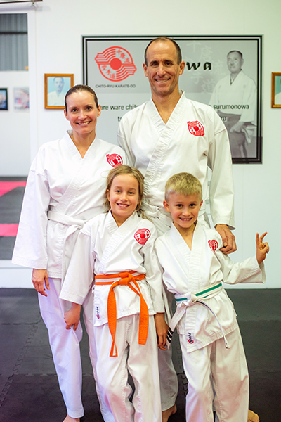 Happy Karate Family