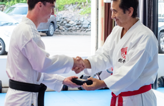 Success in karate grading