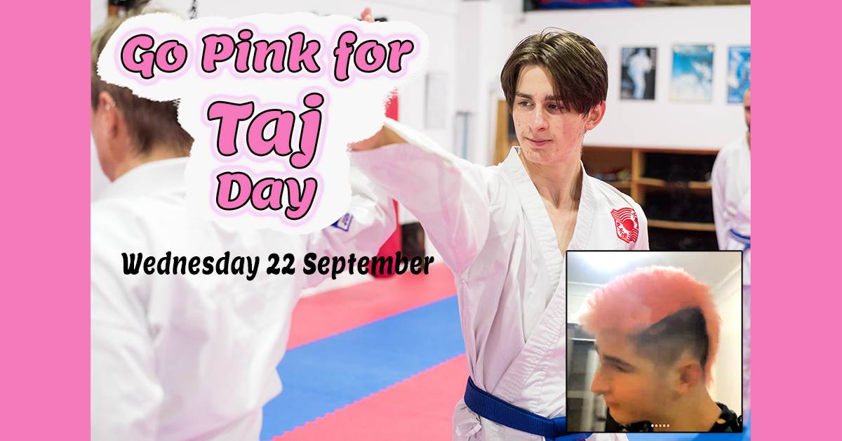 Read more about the article 'Go Pink for Taj' Day