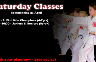 Saturday Karate Classes