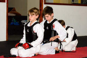 Read more about the article Karate is teaching my son good manners.
