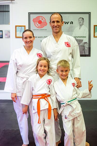 Happy Karate Family