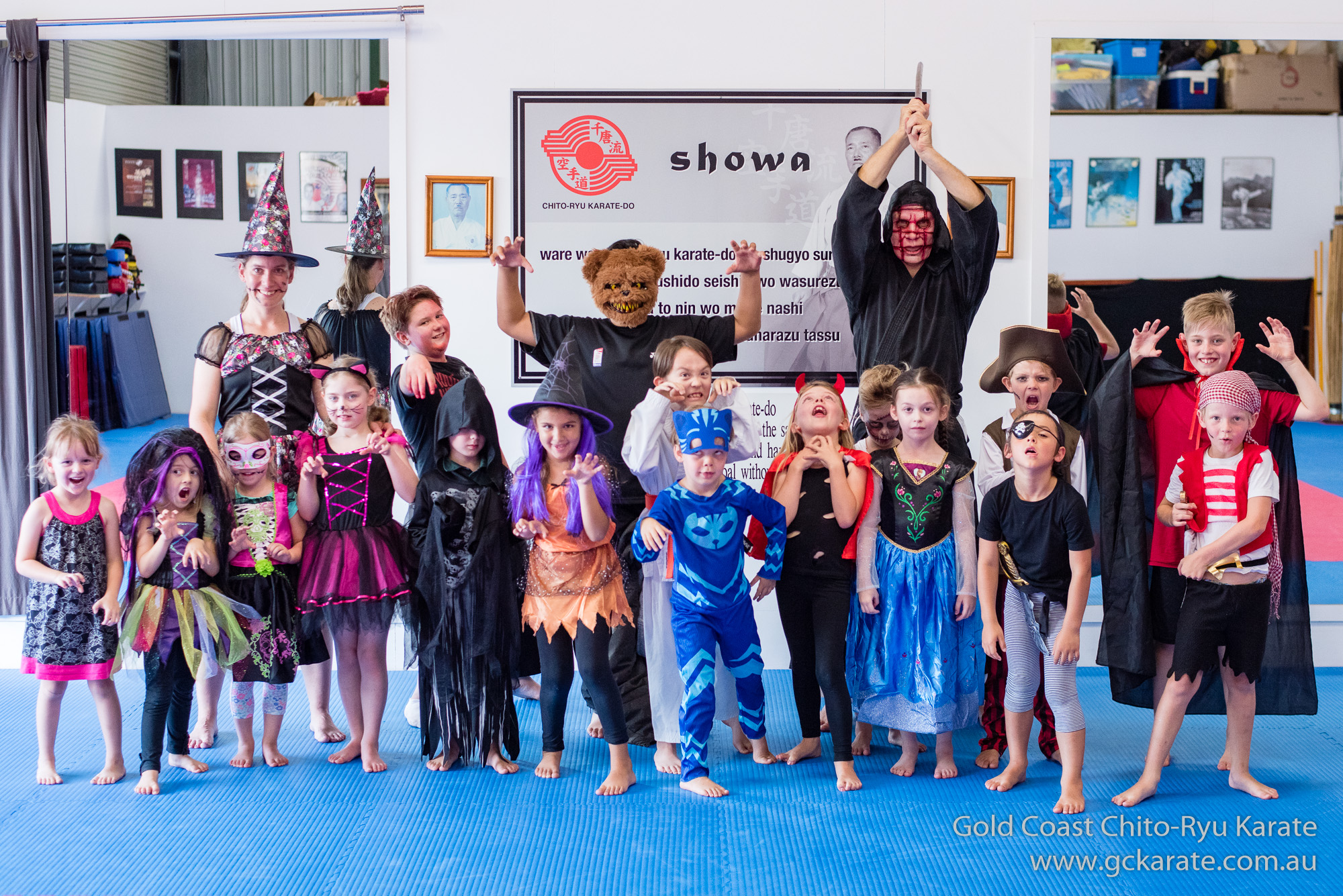 Read more about the article Kick or Treat Halloween Class