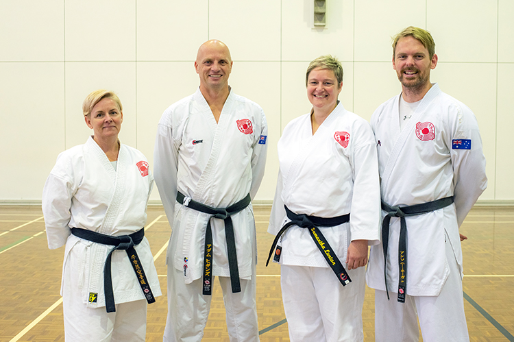 Adult Karate Success