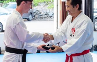 Success in karate grading